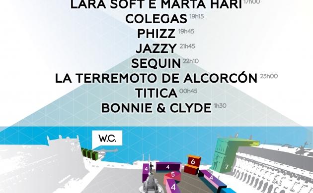 Arraial Lisboa Pride: mapa e alinhamento