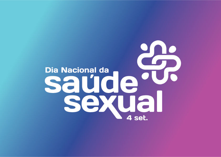 logotipo do dia nacional da saúde sexual