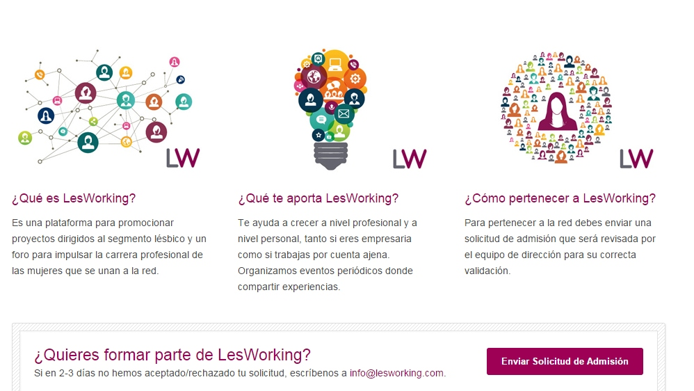 LesWorking: Rede Profissional para L�sbicas